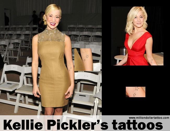 Kellie Pickler's tattoos