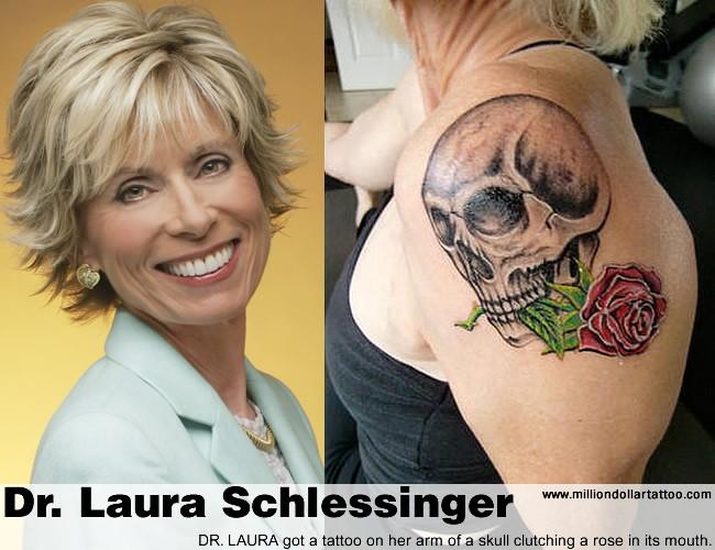Dr. Laura gets a Tat!