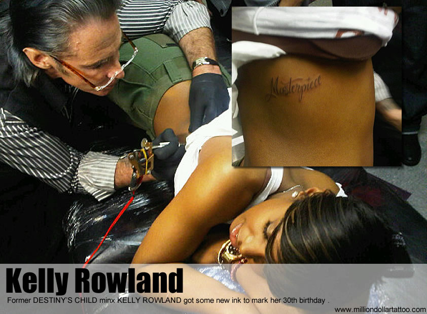 Kelly Rowland Got Some New Ink