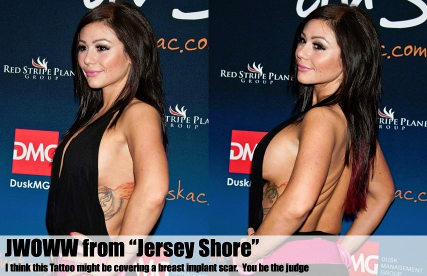 """Jwoww from """"Jersey Shore"""""""